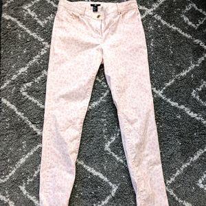 ⚡3/$20⚡H&M leopard print jeans sz:10